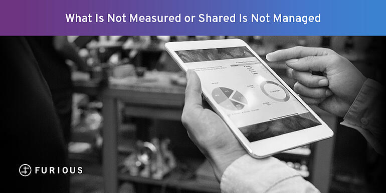 What is Not Measured or Shared is Not Managed