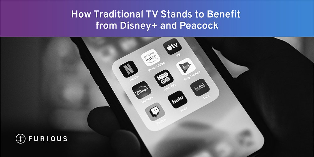 How Traditional TV Stands to Benefit from Disney+ and Peacock