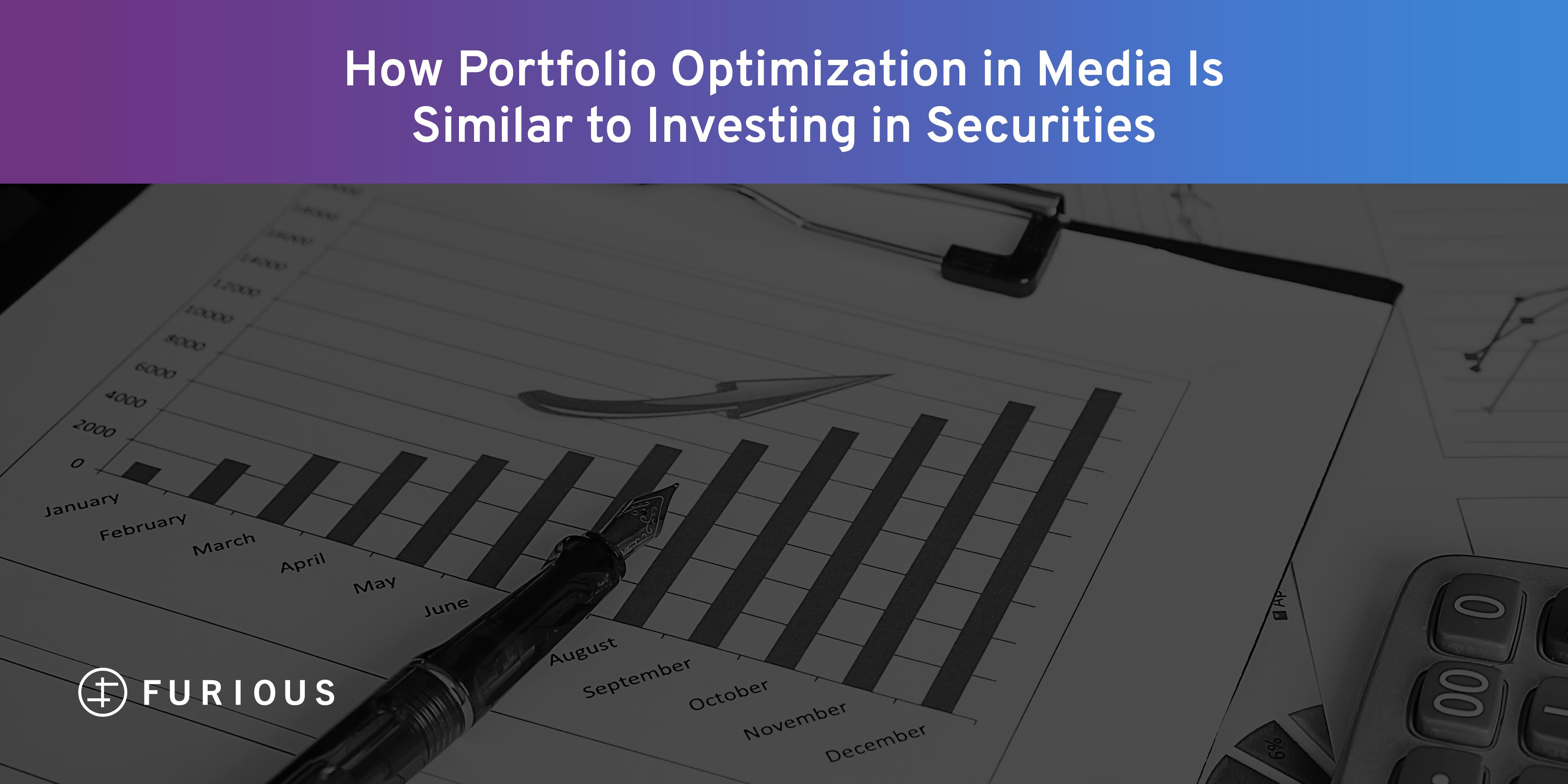 How Portfolio Optimization in Media Is Similar to Investing in Securities
