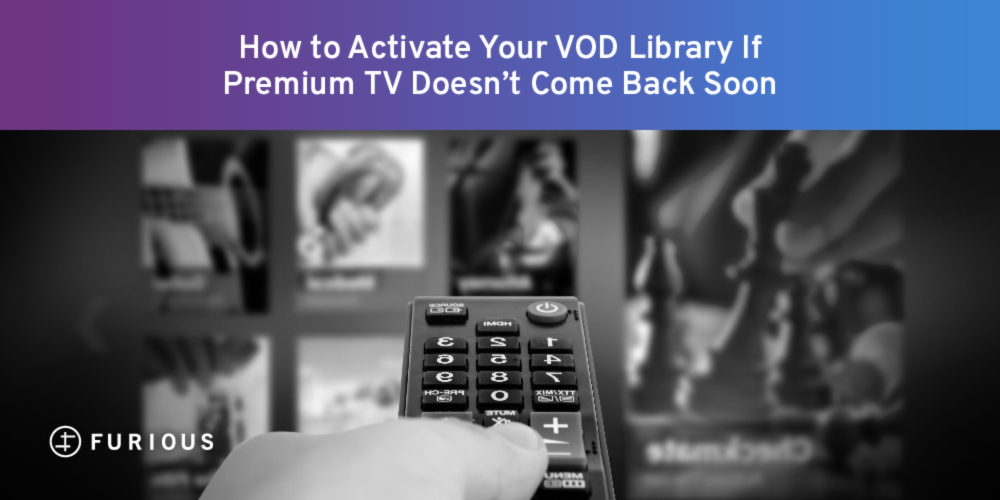 How to Activate Your VOD Library If Premium TV Doesn't Come Back Soon
